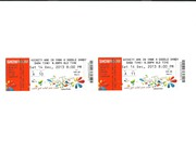 WICKETY WAK TICKETS x 2 TWIN TOWNS 14-12-13 SEATS 2ND ROW FROM STAGE